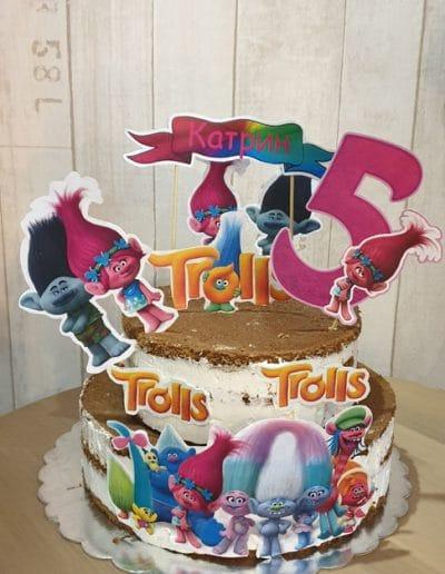 Гола тортас Тролчета