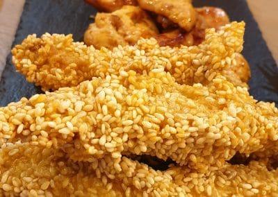 Топло плато с пилешко месо