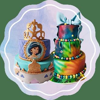 Торта с принцеси